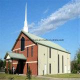 Edificio de iglesia del metal con los mejores planes