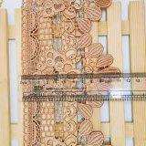 工場衣服のアクセサリ及びホーム織物の&Curtainsのための標準的な卸売11cmの幅の刺繍のナイロンレースポリエステル刺繍のトリミングの空想の化学レース