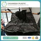 黒い布が付いている大きいジャンボ容器PPによって編まれる袋