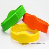 Wristband su ordinazione del silicone NXP MIFARE DESFire EV2 2k/4k/8k con il marchio