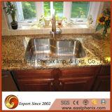 Естественные черные Polished Countertops верхней части кухни камня гранита