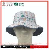 Chapéu colorido da cubeta de Fishman para a menina