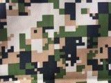 300d 100%Polyester impermeabilizzano il tessuto stampato Camouflag per il rivestimento/indumento