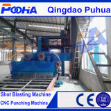 CE P69 Roller Conveyor granallado Máquina