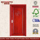 Porta de madeira do folheado o mais atrasado do MDF do carvalho do projeto (XS6-002)