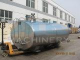 Tipo horizontal sanitario equipo de refrigeración de la leche del tanque del enfriamiento de la leche (ACE-ZNLG-7H)