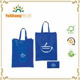 Riciclare il sacchetto non tessuto pieghevole promozionale stampato abitudine