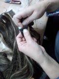 [هيغر] - نوعية [بلوند] مشبك ريمي شعر إمتدادات