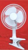 2 dans 1 mini ventilateur promotionnel électrique de ventilateur électrique de bureau d'agrafe (HGC-2)