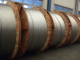 Conductor reforzado trenzado alambre del alambre de acero del Al