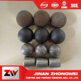 Laminatoio del cemento forgiato e sfera d'acciaio stridente del getto