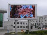 Pantalla de visualización de LED de la publicidad al aire libre del alto brillo 16m m para el edificio/el aeropuerto