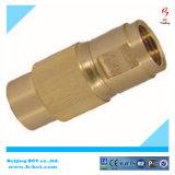 Tubo ad alta pressione del NPT del maschio/acqua d'ottone del tubo che riduce la valvola di ritenuta