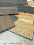 Plancher imperméable à l'eau de PVC de vinyle de modèle européen