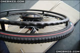 """24V 180W 24 """"/12의 """" 전자 휠체어 허브 모터 장비"""