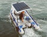 El mono panel solar Semi-Flexible para el cargador de batería 12V del barco de rv que acampa