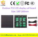 El panel de visualización al aire libre modificado para requisitos particulares de LED de P10 SMD (320*160m m; 2Scaning)
