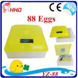 Preiswertes Automatic Mini Chicken Egg Incubator für 88 Eggs (YZ-88)