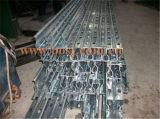 Rolo da loja de droga da prateleira de exposição do metal da prateleira do supermercado que dá forma à máquina Cambodia da produção