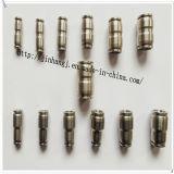 PUの空気ナイロン管の挿入管接合箇所