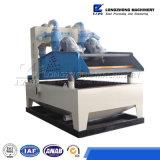 Type neuf sable de silice vibrant réutilisant la machine d'écran avec des séparateurs