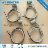 Calefator de bobina com par termoeléctrico K