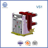 disjuntor magnético permanente de alta tensão do vácuo de 12kv 1250A Vs1