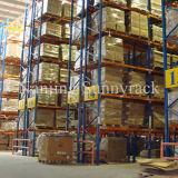 Cremalheira resistente da pálete da prateleira industrial do armazenamento de Warehoue