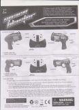 Pistola elettrica di plastica di vendita calda di lotta (128644)