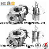 Séparateur magnétique permanent de canalisation liquide pour la colle, Coal-3