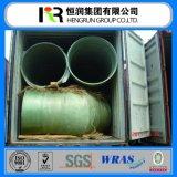 Tubo rotondo del tubo GRP di Pipe/FRP di rinforzo fibra di vetro