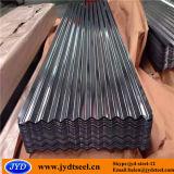 Plaque en acier de Hdgi/feuille galvanisées enduites par zinc