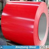 Bobina de aço galvanizada Prepainted PPGI 0.13-0.8 milímetros