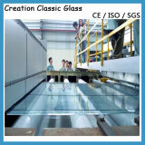 vidrio solar Tempered del hierro inferior ultra claro de 3.2m m 4m m