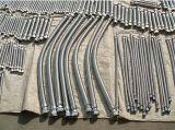 2 mangueira do metal flexível de aço inoxidável 316 da polegada