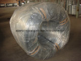 大きいコイルによって電流を通されるワイヤー