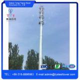 De hete ONDERDOMPELING galvaniseerde de Tubulaire Monopole Toren van de Telecommunicatie van Polen van het Staal