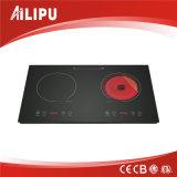 Cocina de la inducción CONTRA la cocina infrarroja