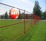 rete fissa provvisoria rivestita della rete fissa di potere di 6feetx10feet Canada/Temp della costruzione
