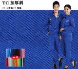 Poliéster Algodão Twill T / C Tela de trabalho / tecido uniforme