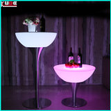 Toy Inspired Illuminated Collection LED Glowing Outdoor Furniture Table