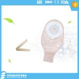 Sacchetto adesivo scaricabile del Colostomy con il morsetto
