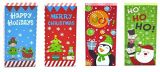Navidad postal, cheque y tarjeta de regalo cajas sujetadoras