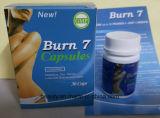 Горячие продавая пилюльки диетпитания потери веса капсулы ожога 7 Slimming