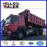6X4 Sinotruk 371HP HOWO Camion benne basculante