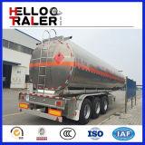 Tri Wellen-Heizöl-Becken-halb Schlussteil 45000 Liter Kraftstoff-Tanker-Schlussteil-für Verkauf