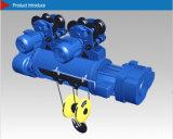 Скорость подъема емкости 10t MD1 электрической лебедки хорошего качества двойная