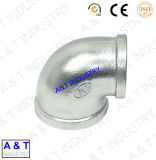 Malleable Pipe Fitting Malleable Réduction de 90 degrés coude