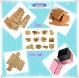 Karton-Kasten-halbautomatisches Vorlagenglas-stempelschneidene Maschine