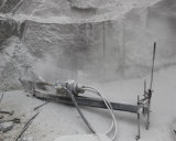 Para baixo The Hole Drill Machine para Drilling Wire Introducing Hole em The Stone Quarry